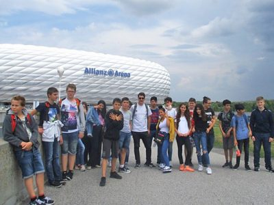 Ausflug zur Allianz Arena