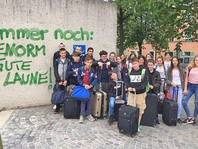 In Regensburg im Schullandheim