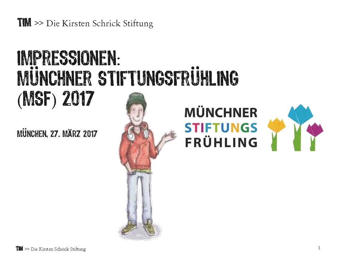 Die Kirsten Schrick Stiftung