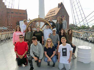 Klassenfahrt nach Stralsund