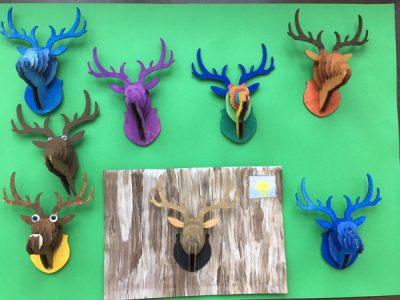Tierisch kreativ – phantasievolle Werke aus der Kreativ AG