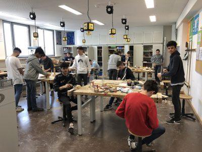 Probeprojekt der Klassen 9a und 9b