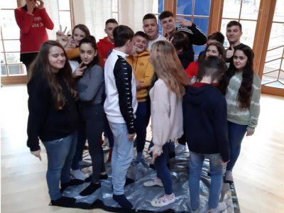 Besuch BO Camp der Klasse 8b
